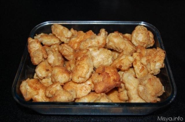 Pepite di pollo in pastella