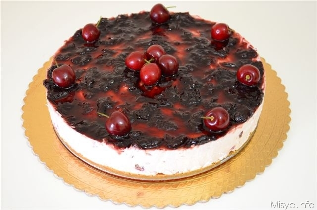 Cheesecake alle ciliegie