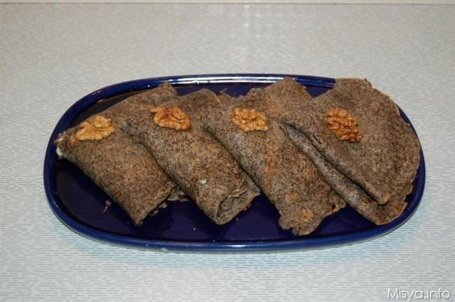 Crêpes di grano saraceno