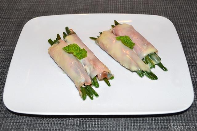 Fagiolini avvolti nel prosciutto ricetta fagiolini for Cucinare fagiolini