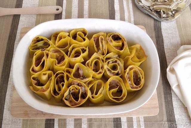 girelle di lasagne