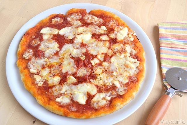 pizza con lievito-madre
