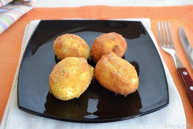 Uova alla monachina ricetta uova alla monachina di misya for Cucinare 2 uova