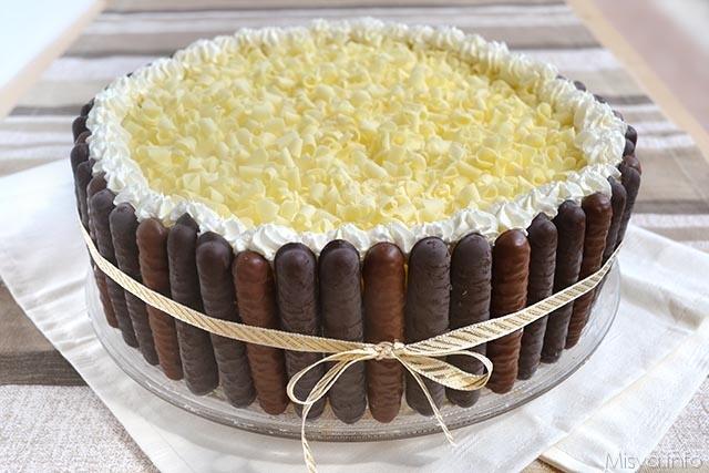 Torta al doppio cioccolato ricetta torta al doppio for Misya ricette