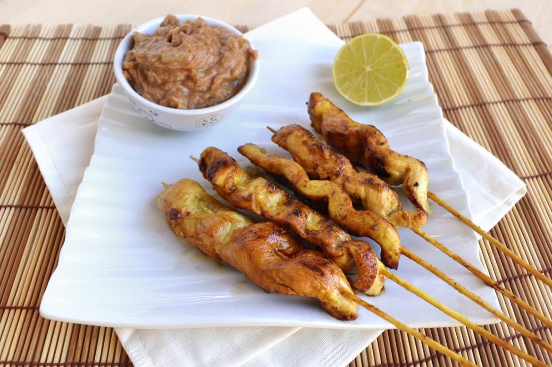 Satay di pollo ricetta satay di pollo di misya for Ricette per cucinare