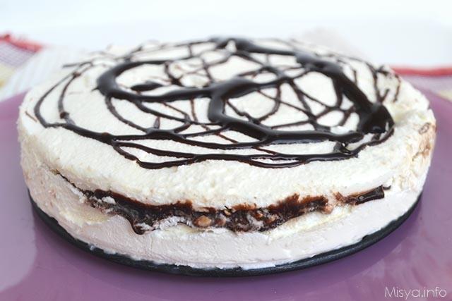 Torta gelato ricetta torta gelato di misya for Ricette di torte gelato