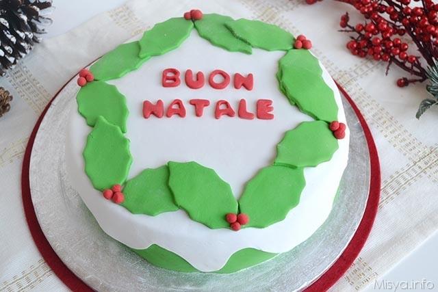 Torta di natale ricetta torta di natale di misya - Decorazioni torte di natale ...