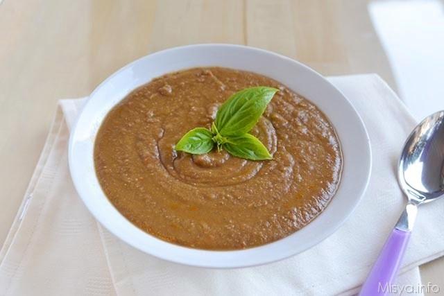 Vellutata di lenticchie bimby ricetta vellutata di for Primi piatti ricette bimby