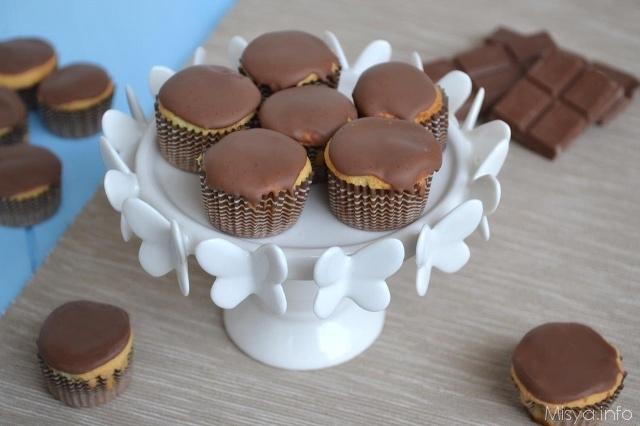 dolcetti con cioccolato