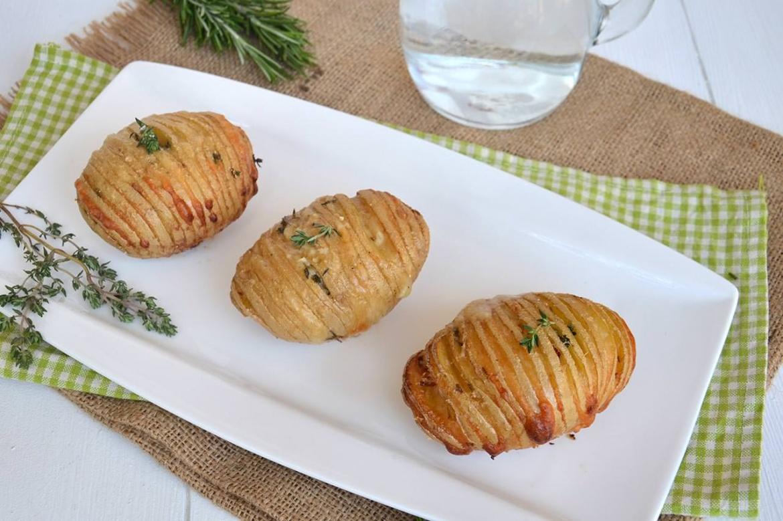 Patate hasselback ricetta patate hasselback di misya for Ricette con patate