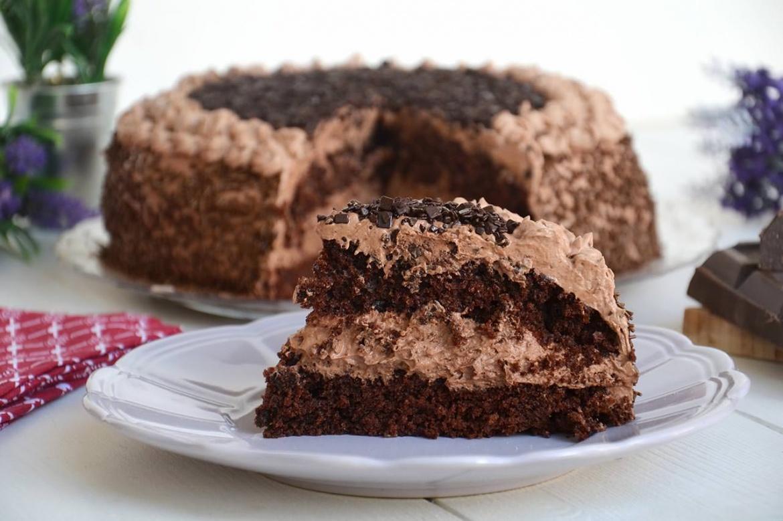 torta al cioccolato ricetta torta al cioccolato di misya. Black Bedroom Furniture Sets. Home Design Ideas