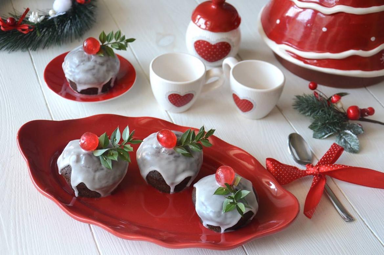 Mini christmas cake ricetta mini christmas cake di misya - Decorazioni torte natale ...