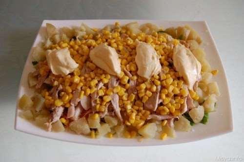 Insalate ricette Insalata di Pollo