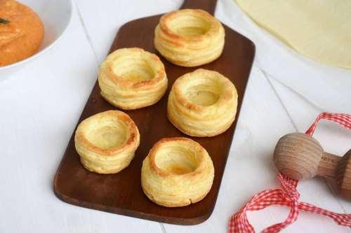 Finger food ricette Vol-au-vent