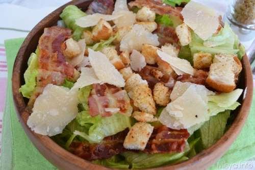 Insalate ricette Insalata Caesar