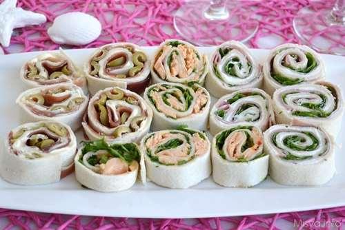 Ricette Finger food Girelle fredde farcite