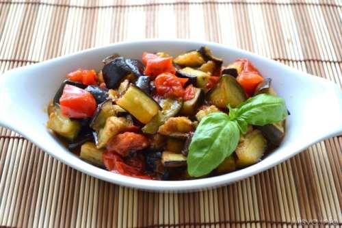 Ricette Contorni napoletani Melanzane a funghetto