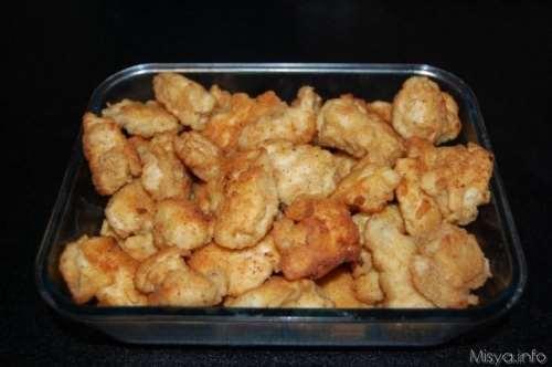 Finger food ricette Pepite di pollo in pastella