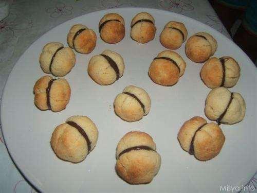 Ricette Biscotti Baci di dama