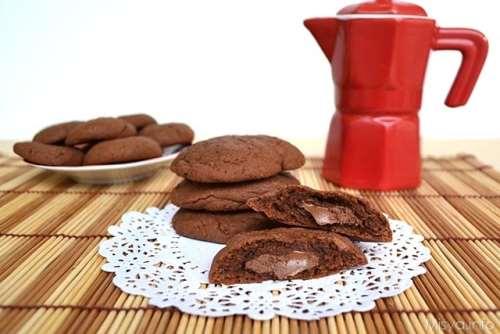 Biscotti ricette Biscotti morbidi al cioccolato