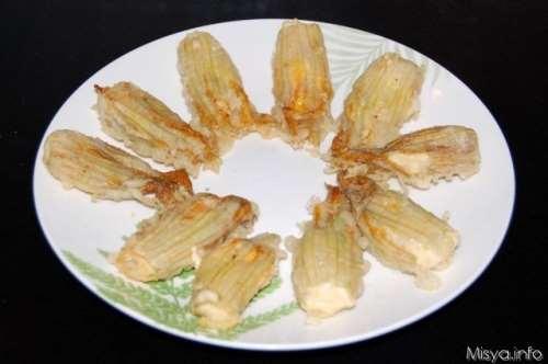 Ricette  Fiori di zucchine ripieni