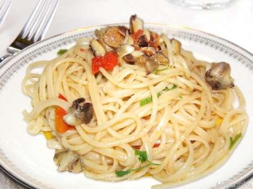 Ricette  Linguine con i murici