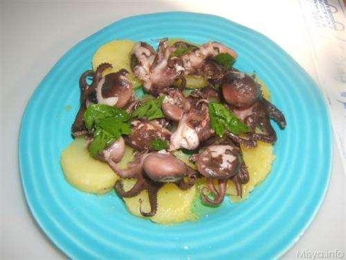 Moscardini e patate