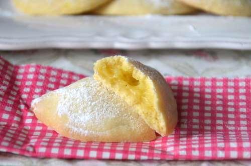 Biscotti ricette Biscotti alla crema