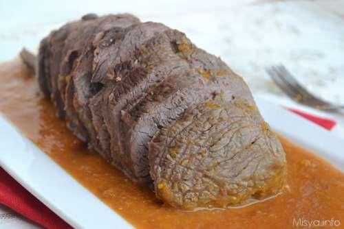 Secondi piatti napoletani ricette Lacerto al glacé