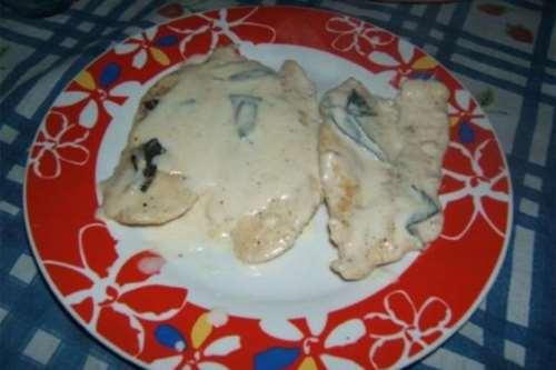 Ricette  Petti di pollo alla grappa