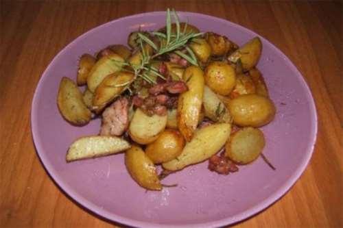 Ricette  Patate novelle al forno