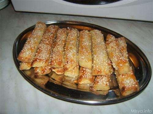 Ricette Finger food Bastoncini di patate e sesamo