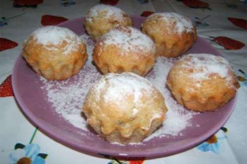 Muffin banana e mandorle