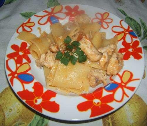 Pasta ricette Paccheri con la cernia