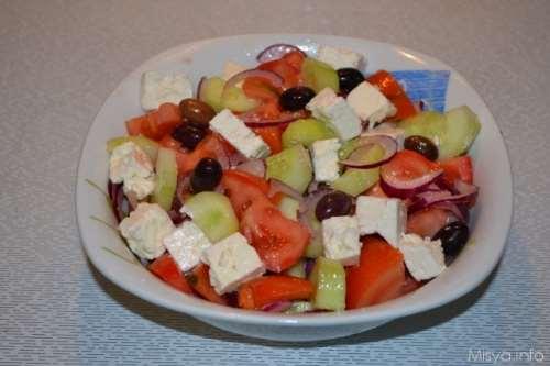 greche ricette Insalata greca