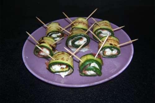 ricette Involtini di zucchine