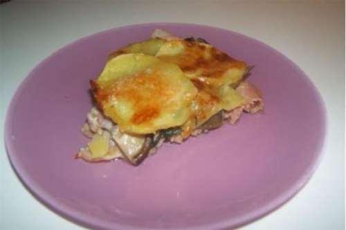 Ricette Piatti unici Tortino di patate e funghi
