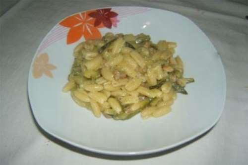 Gnocchetti sardi zucchine e zafferano