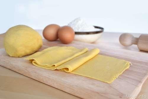 Ricette Base Pasta fresca all'uovo