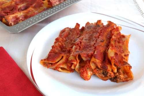 Ricette  Cannelloni di carne