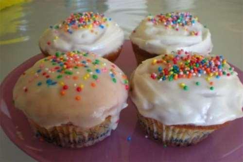 Ricette dal mondo Cupcake alla vaniglia