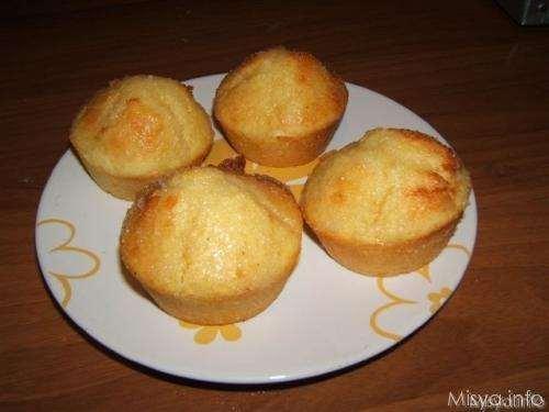 Muffin ricotta e limone