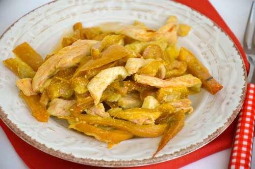 Secondi piatti ricette Pollo con i peperoni