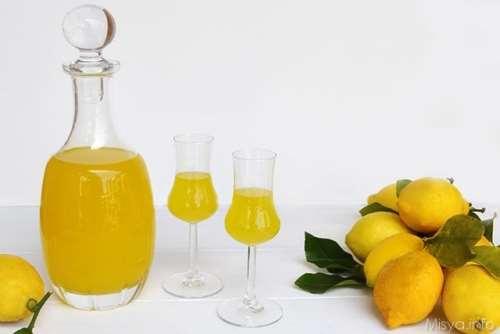 Ricette Liquori e cocktail Limoncello