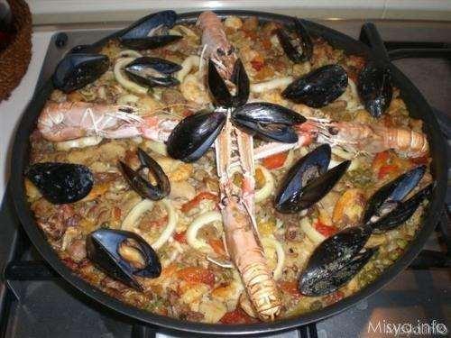 spagnole ricette Paella