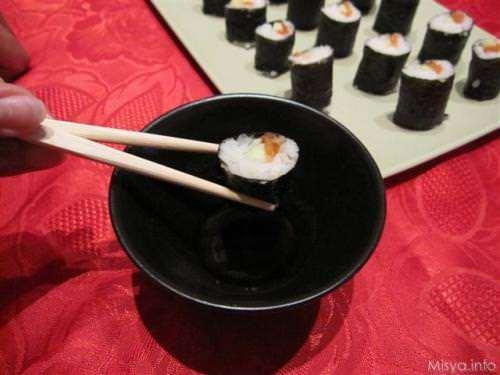 giapponesi ricette Maki sushi