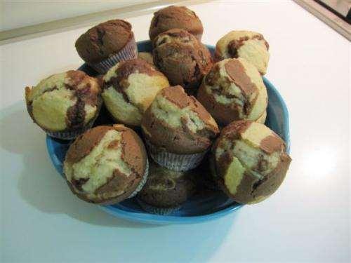 Ricette Muffin Muffin al cocco e Nutella