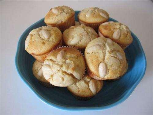 ricette Muffin cioccolato bianco e mandorle