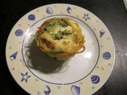ricette Timballini di pasta con i broccoli