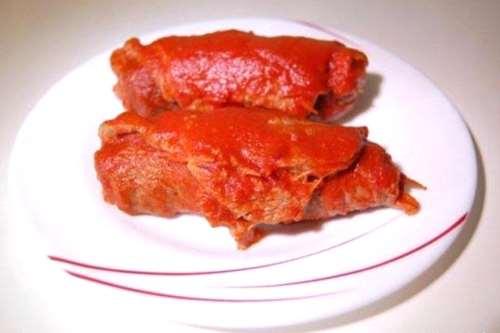 Ricette ricette Braciole napoletane al sugo